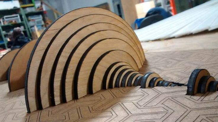 Tactile ideas-Junglist artwork, which useslaser-cut slices of birchto mark out the pattern of history's most famous drum break,was created by Colin Hendee of Austin, Texas, and is currently available to …