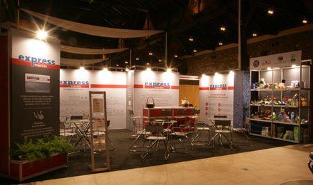 Εντυπωσιακό παρών έδωσαν τα express market στην Έκθεση ΚΕΜ Franchise, τo δίκτυο καταστημάτων franchise της Διαμαντής Μασούτης Α.Ε.