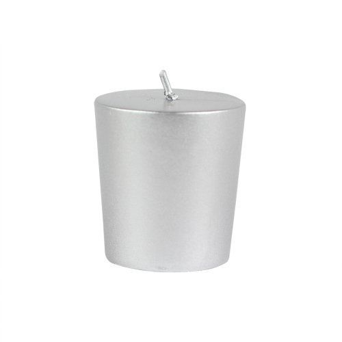 Metallic Silver Votive Candles (12pc/Box) By Zest Candle. $17.24. Burn
