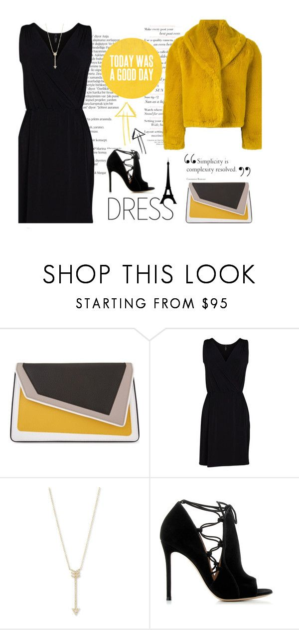 """Cheap thrills"" by tea-ipsa ❤ liked on Polyvore featuring Balmain, âme moi, Viereck, EF Collection, Gianvito Rossi, Jean-Paul Gaultier and under100"