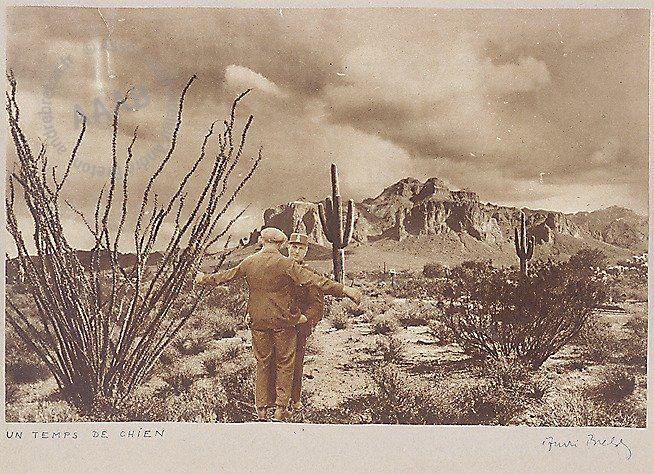 Andre Breton, Un temps de chien ('dog's weather'), 1933,