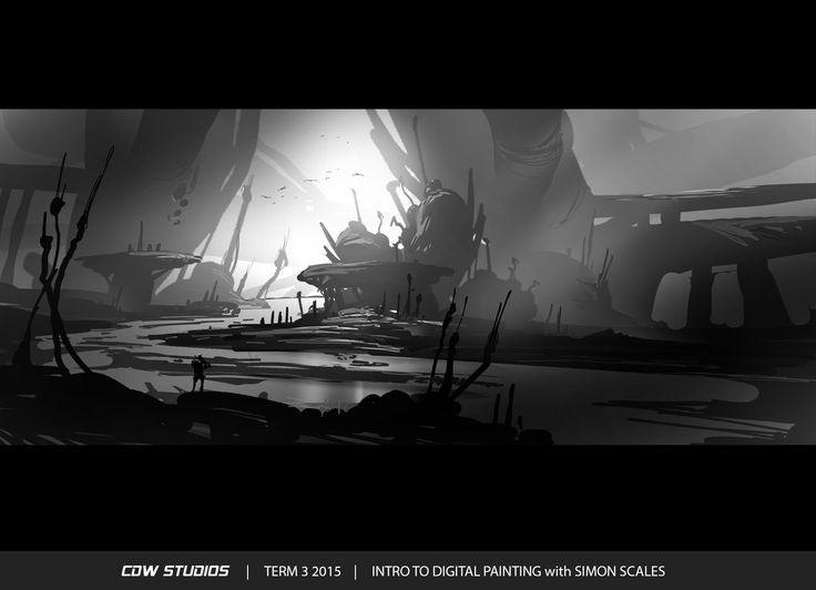 Class: Introduction to Digital Painting & Theory with Simon Scales