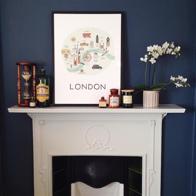 les 27 meilleures images du tableau farrow and ball sur pinterest murs bleus couleurs de. Black Bedroom Furniture Sets. Home Design Ideas
