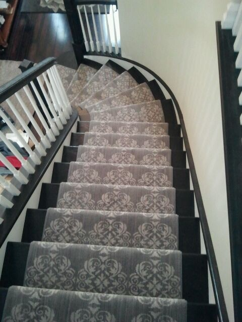 new stair runner traditional staircase