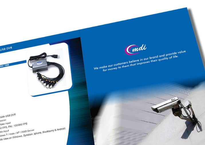 Product Brochure Design for MDI
