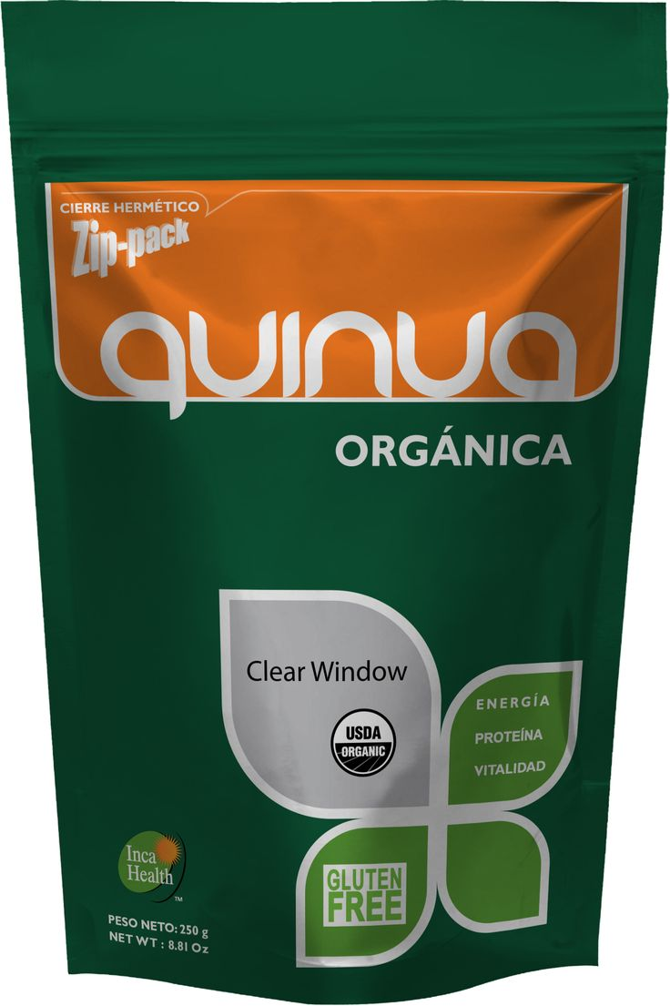 Quinua Organica_150g #stand up #pouch