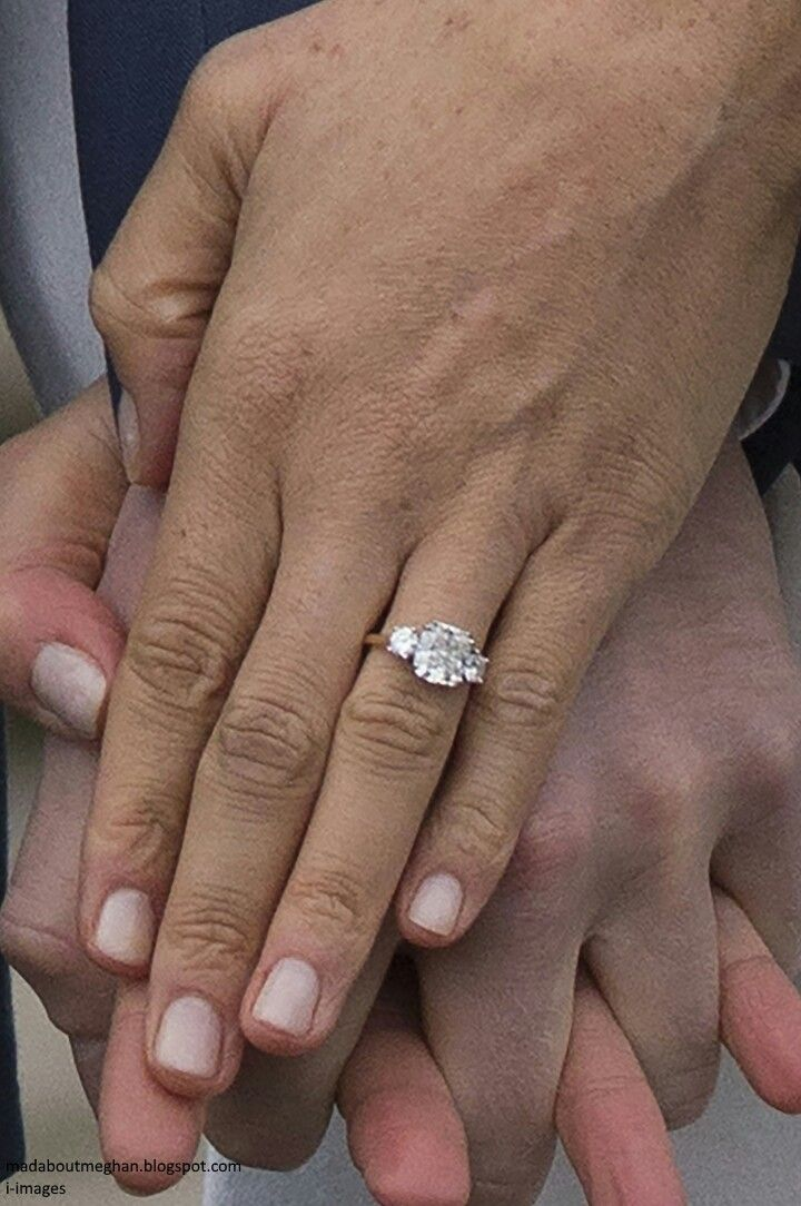 Meghan And Harry Engagement Ring Royal Wedding Prince Harry