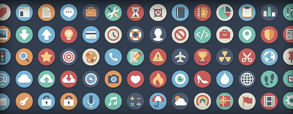 Beautiful Flat Icons – 384 Free And Open Source Variations