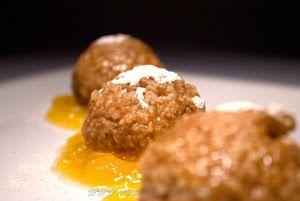 Mazsolás kölesgombóc http://www.receptmuves.hu/2012/02/mazsolas-kolesgomboc.html #mazsola #koles #gomboc #raisins #millet