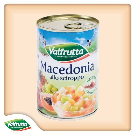 Gusta tutta la #dolcezza della #frutta migliore nella #Macedonia allo #sciroppo #Valfrutta! Raccolta perfettamente #matura e dopo un'accurata selezione è un #sano e #gustoso #dessert o può essere usata per arricchire i tuoi #dolci. Scopri qui tutta la nostra frutta allo sciroppo:  http://www.valfrutta.it/prodotti/prodotti-confezionati/frutta-confezionata/frutta-sciroppo/