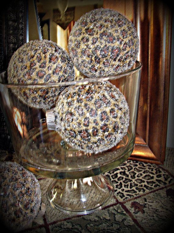 Leopard Decorative Balls Impressive 476 Best Decorative Balls And Orbs Images On Pinterest  Animal Design Ideas