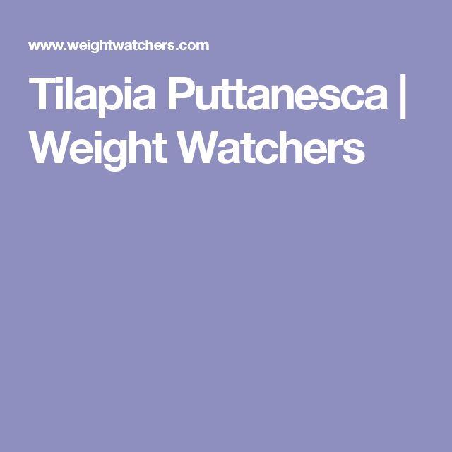 Tilapia Puttanesca   Weight Watchers