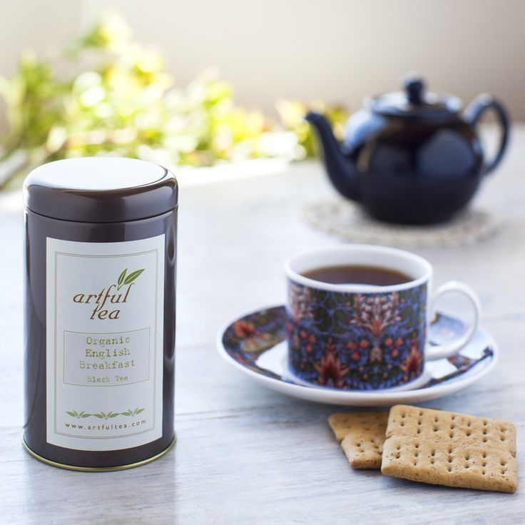 English Breakfast Organic Black Tea by ArtfulTea