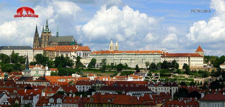 Pražský hrad v celé parádě