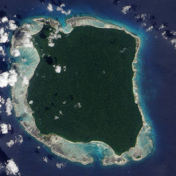 The outside world has known about North Sentinel Island for centuries, but the islanders have been almost completely cut off from the rest of the world all that time, and they fiercely maintain their isolation to this day. No one knows what language they speak or what they call themselves -they have never allowed anyone to get close enough to find out.