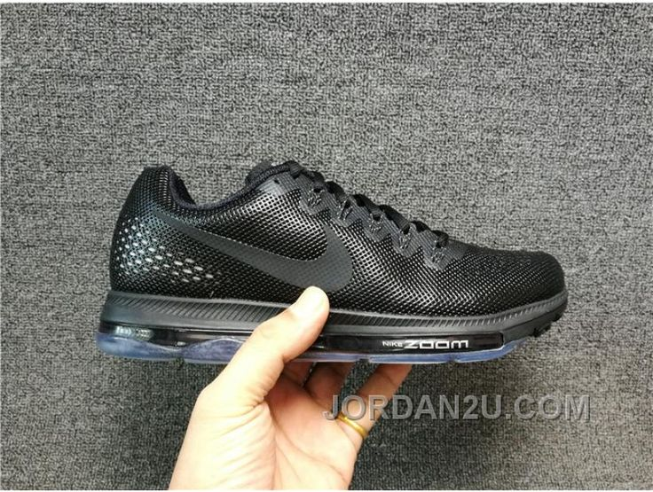 2016 Nike Zoom All Out 878670-012 Genuine Leather Black Women/men