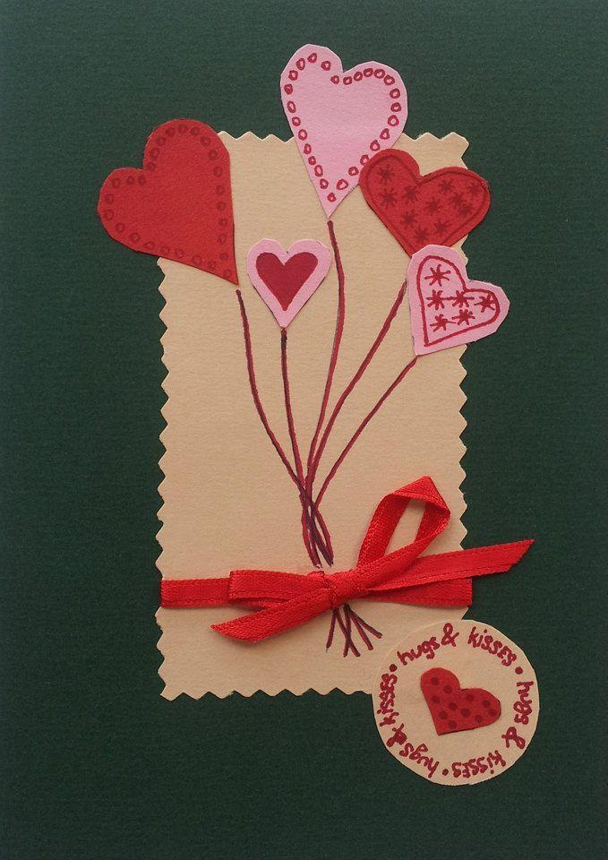 Handmade wishes card for St Valentine's day #handmade #greetingcard #myart #art #handmadegreetingcard #saintvalentineday #stvalentineday #card #papergoods #artcollector #love #wishes #milan #italy #lidiiaart #lidiiaboichenkoart