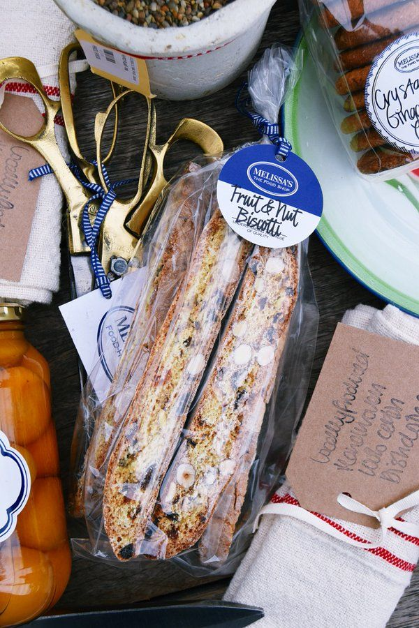 Make this #MothersDay one to remember with Melissa's delectable Biscotti #Gifts