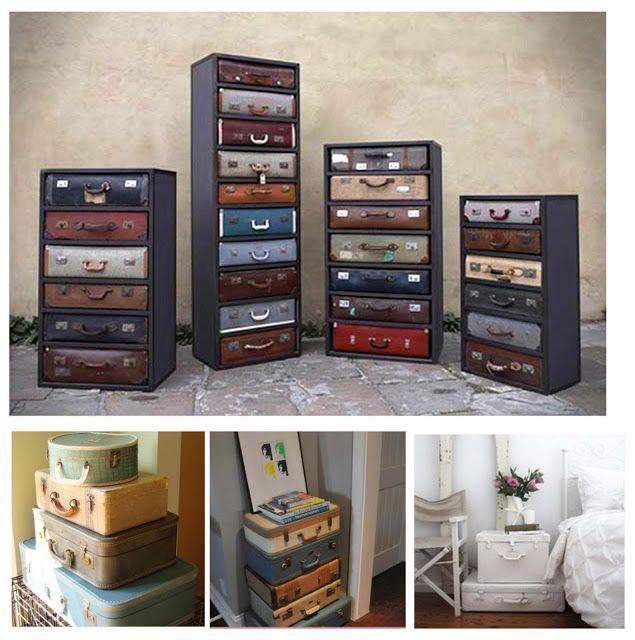 Oltre 25 idee originali per vecchie valigie su pinterest - Quante valigie si possono portare in aereo ...