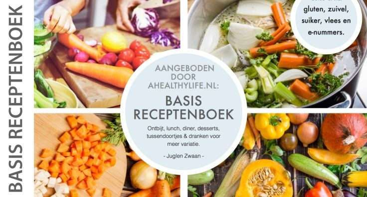 Basis receptenboek nu gratis te downloaden