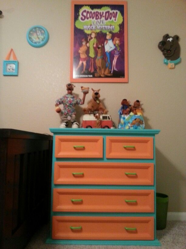 scooby doo bedroom dresser