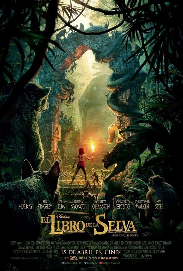 """DISNEY presenta una de sus películas más esperadas del año, una nueva versión de uno de los grandes clásicos: """"El libro de la selva""""."""