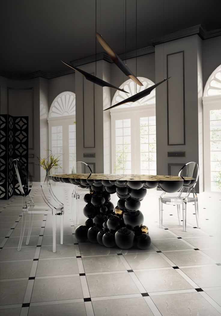 Shopping Guide: Explore A Deluxe Collection Of Unique Dining Tables ➤ To  See More News