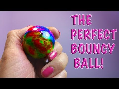 DIY: HOW TO MAKE THE PERFECT RAINBOW BOUNCY BALL WITH BORAX! - YouTube