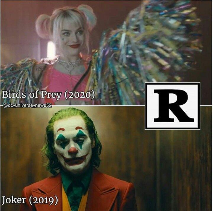Dc S R Rated Movies Birds Of Prey Joker R Estricted Joker Birdsofprey Dceu Dccomics Jokermovie Birdsofpreymovie Harleyqui Joker Dc Heroes R Movie