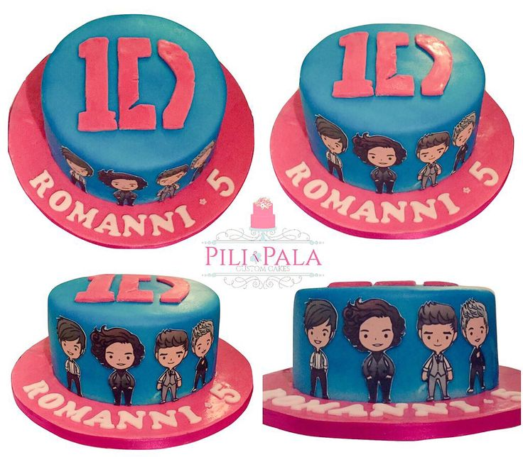 One direction 1D birthday cake