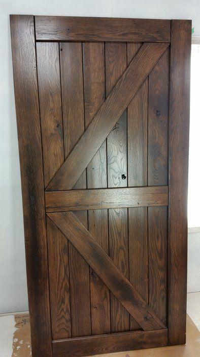 Pair Of Reclaimed Oak Barn Doors Basement Project Pinterest