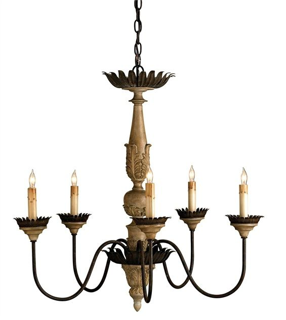 Currey And Company Innocence Chandelier 9255