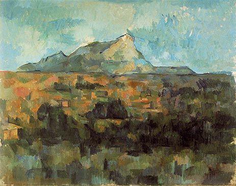 ポール・セザンヌ「サント・ビクトワール山」