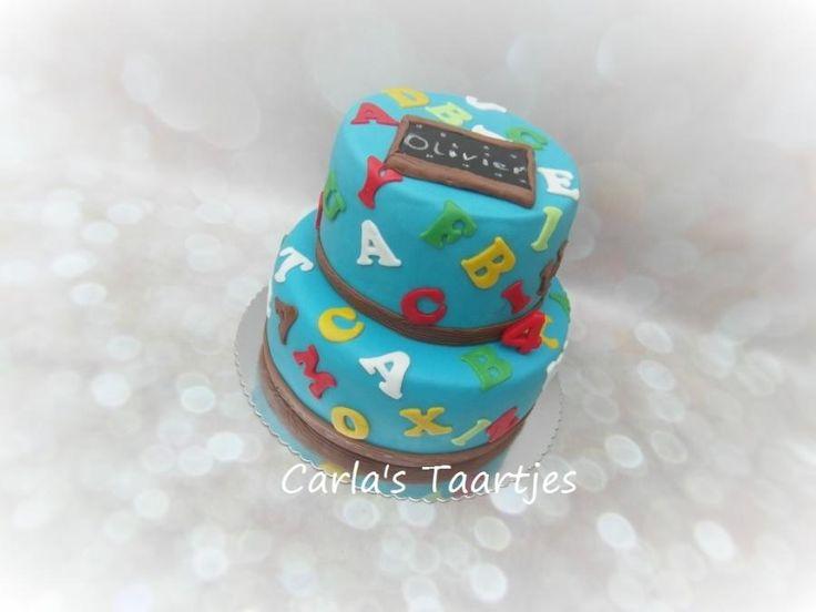 Alphabet Cake by Carla Del Sasso