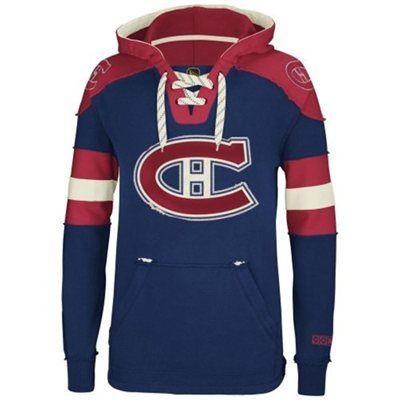 Montreal Canadiens Reebok Pullover Hoodie – Navy Blue #myNHLWishListSweeps