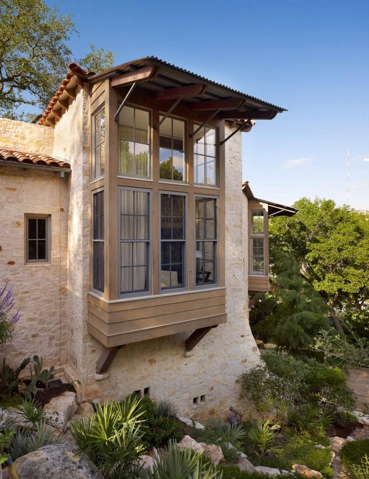exterior | paul lamb architects.  Love the blending of modern with traditional southwestern/spanish colonial.