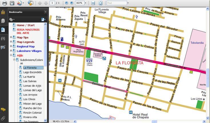 Tony Burton Chapala Map