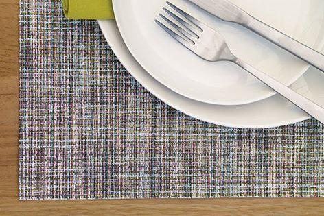 #L_art_de_la_table by #Chilewich   #sousplats & #linen   ποικιλία υφάνσεων χρωμάτων και σχεδίων για να κάνετε το τραπέζι σας πραγματικά #ξεχωριστό #placemats #σουπλά #τραπεζι #τραπεζαρία #decor #hotels
