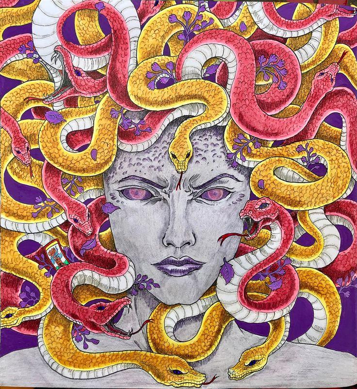 mythomorphia 🇺🇾 Coloring books, Art