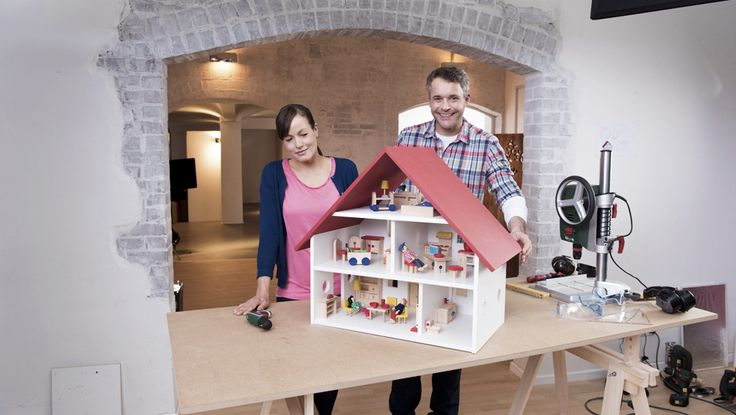 Progetto per una casa delle bambole fai da te