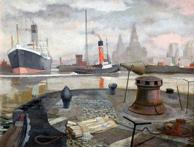 Waiting the Tide by Harry Taylor Hoodless