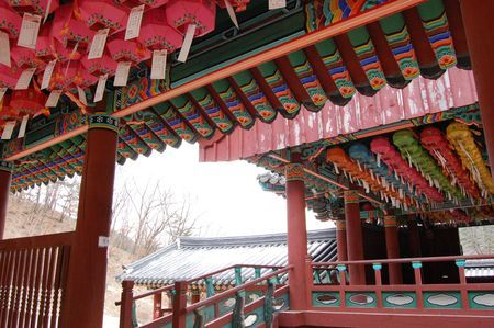 Cheongpyoung Temple (청평사), Korea.  For the slideshow of my trip, visit http://www.shinshine.com/my-blog/2012/03/chuncheon-trip.html