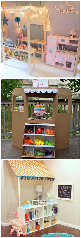 Petites boutiques home made pour enfants - DIY