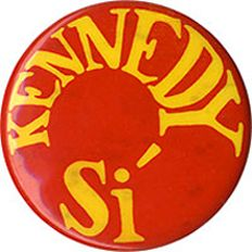 Robert Kennedy campaign button from 1968