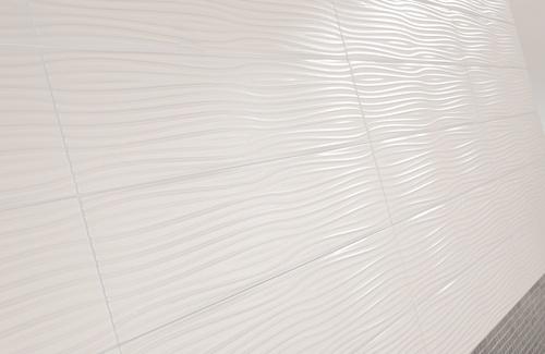 Dune White Sea 6x24 Textured Ceramic Wall Tile Backsplash In 2018 Pinterest Tiles Bathroom And