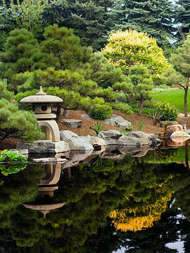 84 best images about japanese gardens on pinterest for Urban japanese garden