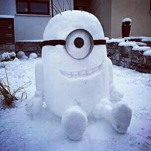 Best Snowmen Ideas Images On Pinterest Minions Snowman And - 15 hilariously creative snowmen that will take winter to the next level 7 made my day