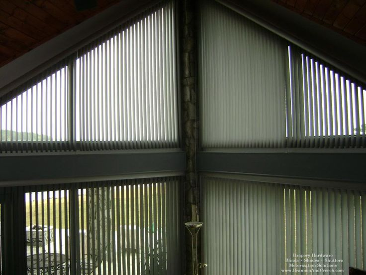 Graber Vertical Blinds for Angled Windows