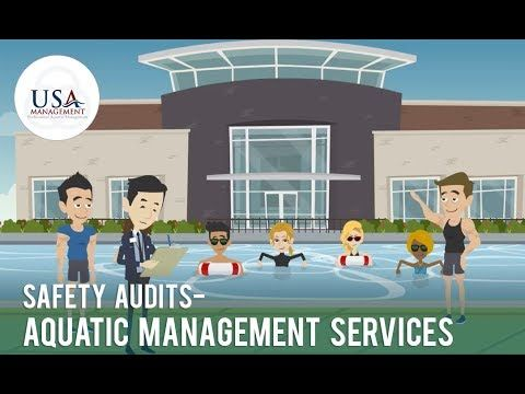 Safety Audits - Aquatic Management Services  Safety audits are very important to detect the potential risk or accidents in aquatic facilities,  USA pool management believes that safety audits should be done at least once in every six months. This is as important as hiring swimming pool lifeguards because it is also related to the safety of the patrons.