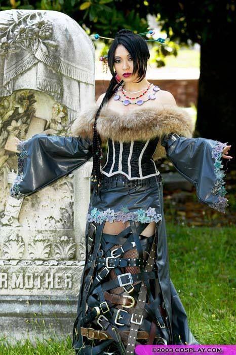 Lulu - Final Fantasy X cosplay by Yaya Han